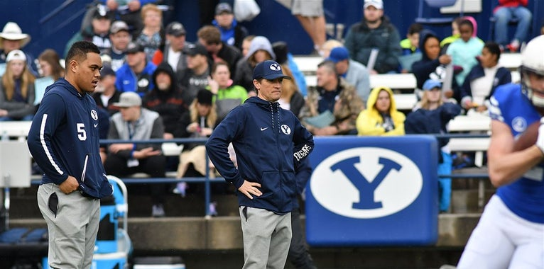 Aaron Roderick examines BYU's quarterback position group