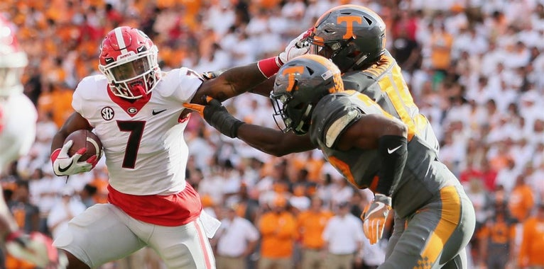 McElroy sees D'Andre Swift as the best non-QB Heisman contender