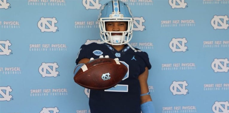 UNC was Love at First Sight for Biggers
