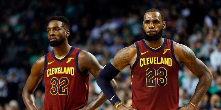 Jeff Green will start Game 7 in place of Kevin Love