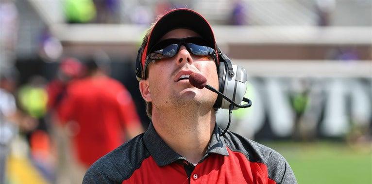 Drinkwitz on NC State fan base: 'We're not taking seats out'