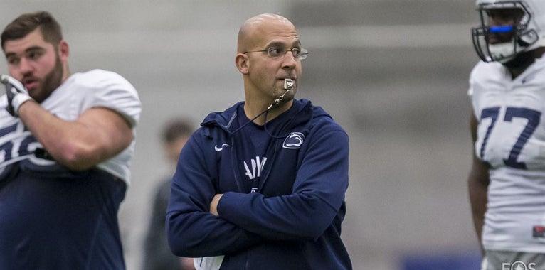 Penn State's James Franklin on Dodd Trophy Watch List