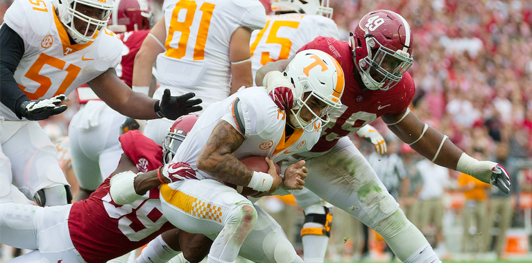 Way-Too-Early Score Predictions: Alabama at Tennessee
