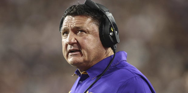Orgeron says he corrected a mistake by hiring Ensminger