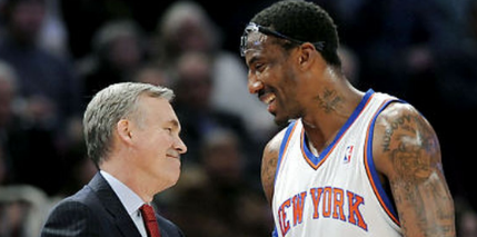 Amar'e Stoudemire hopes to return to the NBA