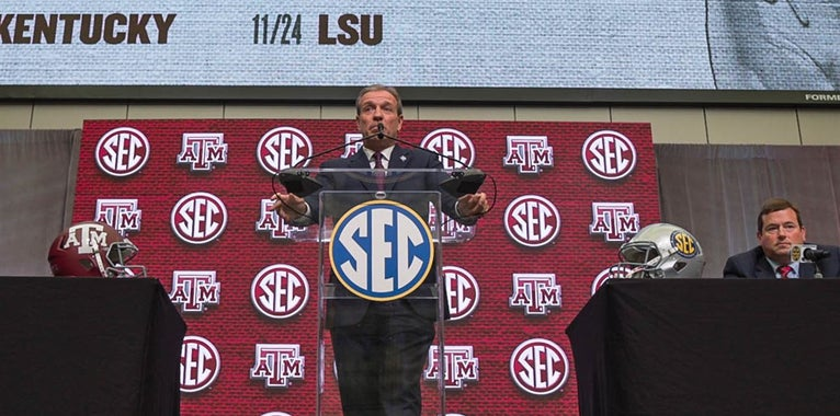 Jimbo Fisher's reunion with Woodward biggest reason he's at A&M