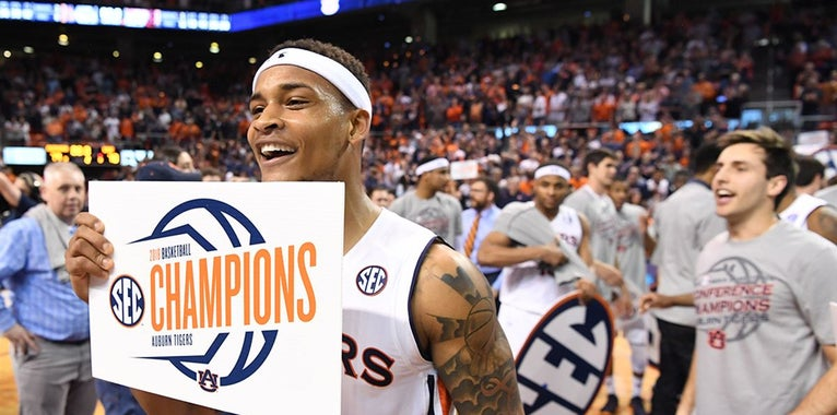 Auburn Men 3rd, Women 8th In SEC All-Sports Trophy Standings