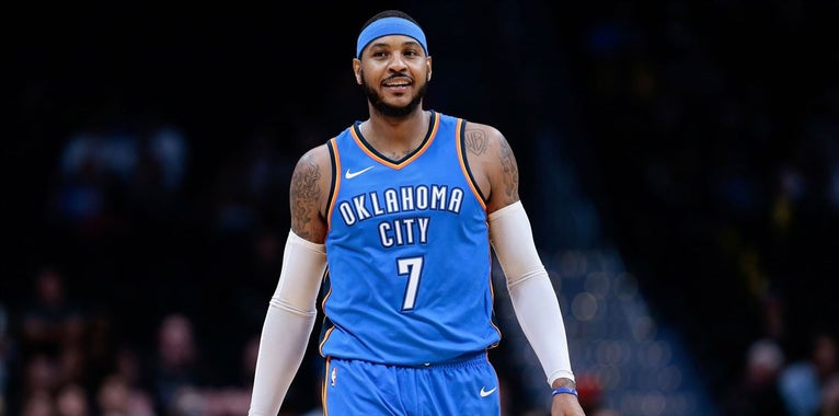 Report: Thunder trade Anthony to Hawks in three-team deal
