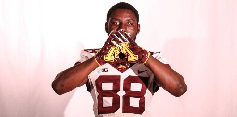 Texas WR Nnamdi made the best decision for him at Minnesota