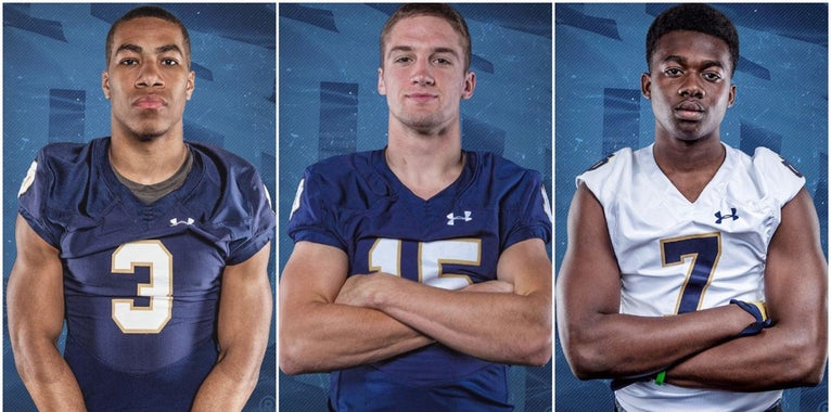 Trio of Top 2018 Notre Dame signees visiting this weekend