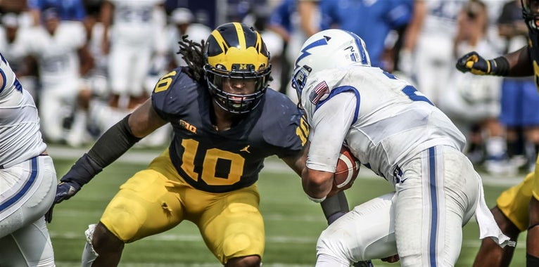 Every returning starter on the Michigan roster on 2018
