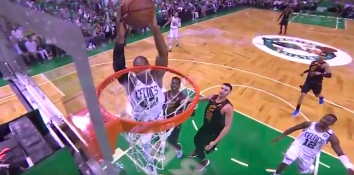 WATCH: Terry Rozier hits Al Horford for big alley-oop