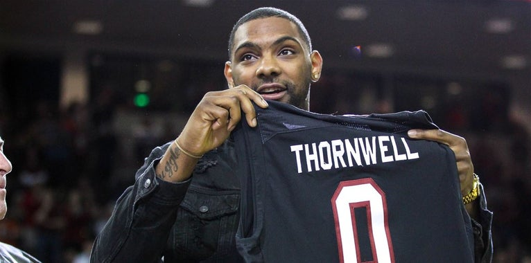 Thornwell shows resiliency in rookie struggles
