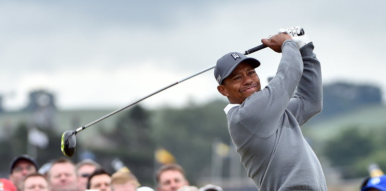 Tiger Woods won't play on tour this year