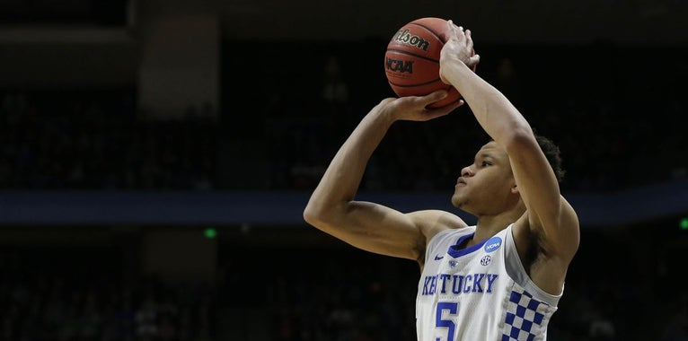 Kenny Payne compares Kevin Knox to Kevin Durant