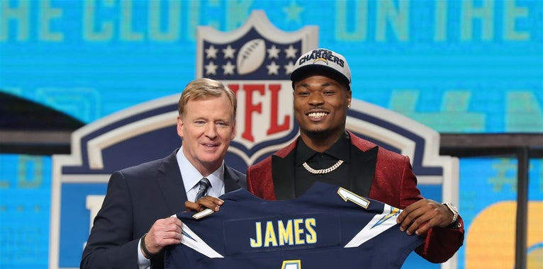 Derwin James signs NFL rookie contract with Los Angeles Chargers