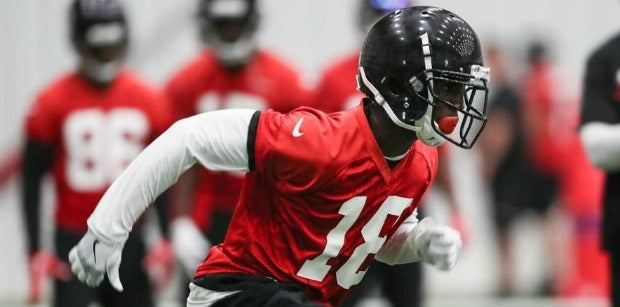 Dan Quinn says Calvin Ridley is 'ahead of the curve' as a rookie