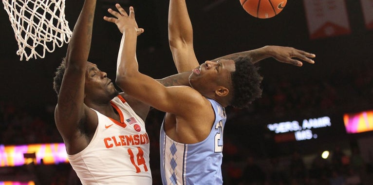 Clemson Hands UNC Third Straight Loss