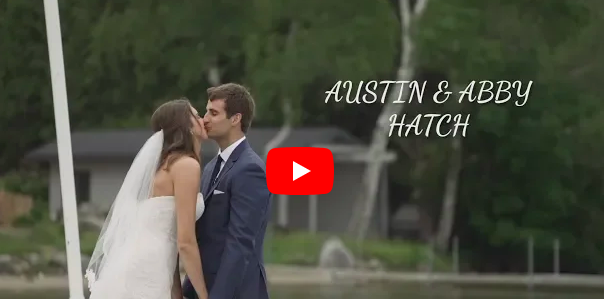 LOOK: Austin, Abby Hatch tie the knot in touching wedding video