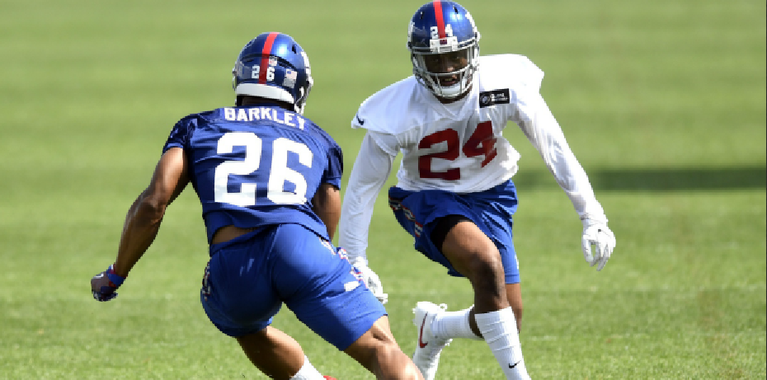 Saquon Barkley signs rookie contract with New York Giants