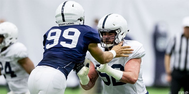 PHOTOS: Penn State's sloppiest practice session of the spring