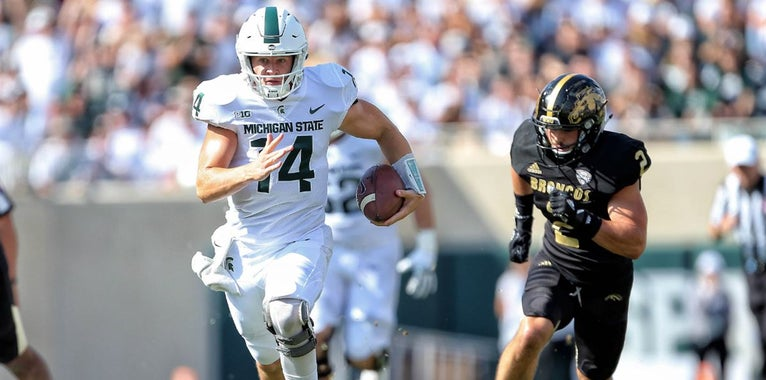 Lewerke gets vote for preseason B1G Offensive Player of the Year