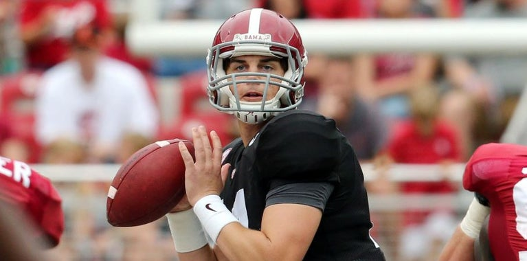 Notebook: Saban breaks down QBs after A-Day