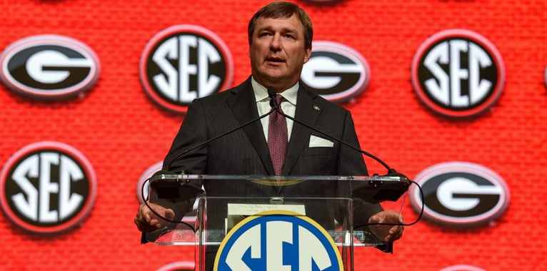 Georgia Football: What Kirby Smart said at SEC Media Days