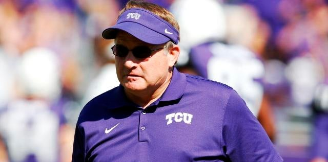 TCU's Patterson on outperforming recruiting rankings