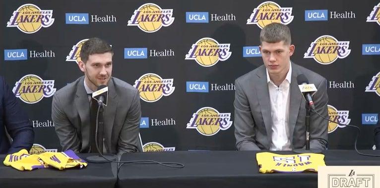 Magic Johnson's 5 a.m. phone call led to the Lakers drafting Svi