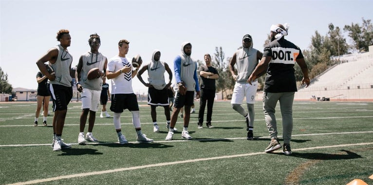 QB Williams Spends Weekend at QB Takeover Training Camp