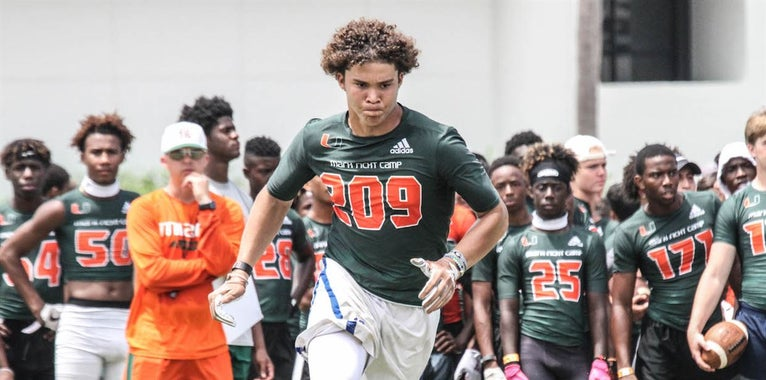 Miami Offers 2021 TE Wilcox Following Camp Performance