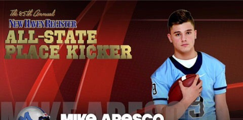 Mike Aresco Sets Nutmeg State Records as Kicker