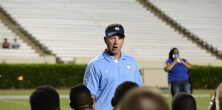 UNC Coaches Hit The Road