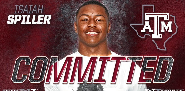 A&M picks up commitment from the state's top RB Isaiah Spiller
