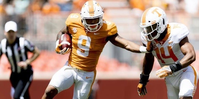 Pruitt curious to see how Vols' RB situation 'shakes out'
