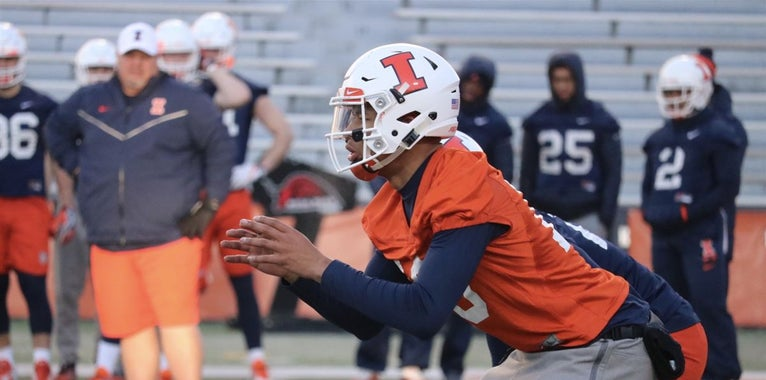 QB Cam Thomas gets 'more lovin' from Coach Smith' this spring