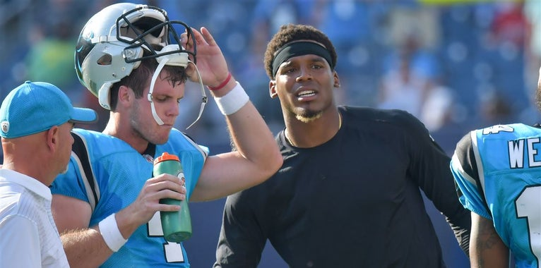 The Panthers backup QB options outside of Derek Anderson