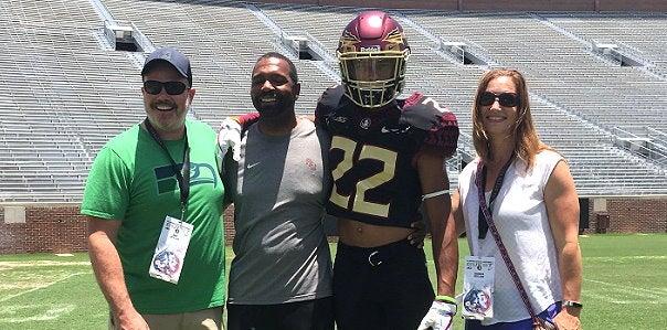 2021 WR Emeka Egbuka recaps 'awesome' visit to Florida State