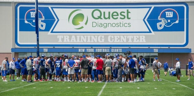 Giants introduce free fan ticketing for training camp practices