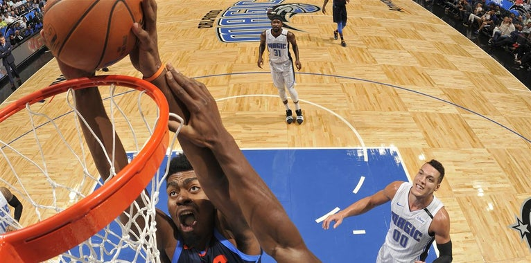 Dakari Johnson traded to Magic