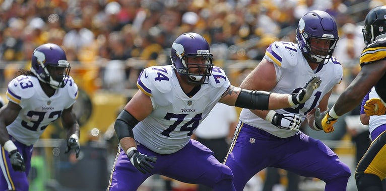 Mike Remmers says he is more comfortable on inside of O-Line