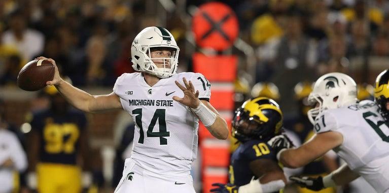 Brian Lewerke, Michigan State, Pro-Style Quarterback