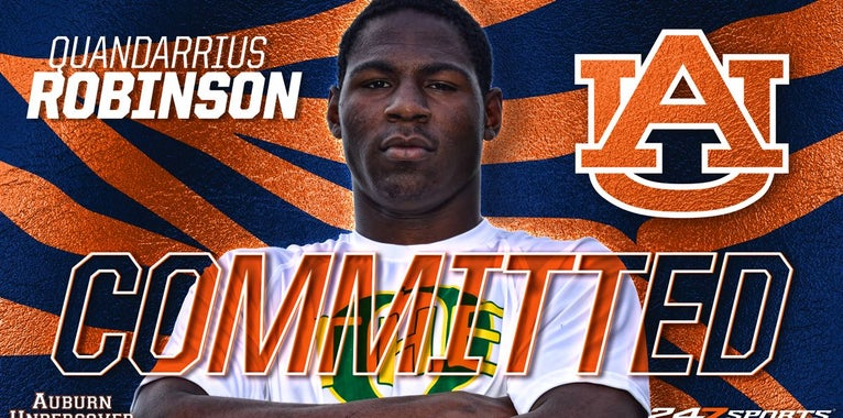 2020 in-state standout Quandarrius Robinson commits to Auburn