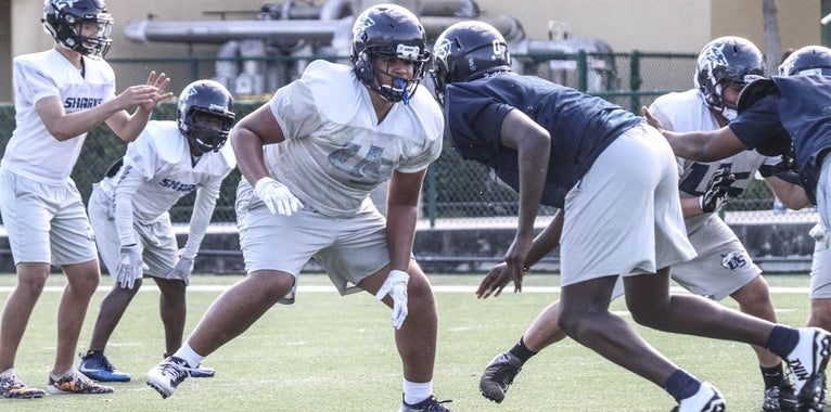 Top Schools Already Courting 2021 OL Tate